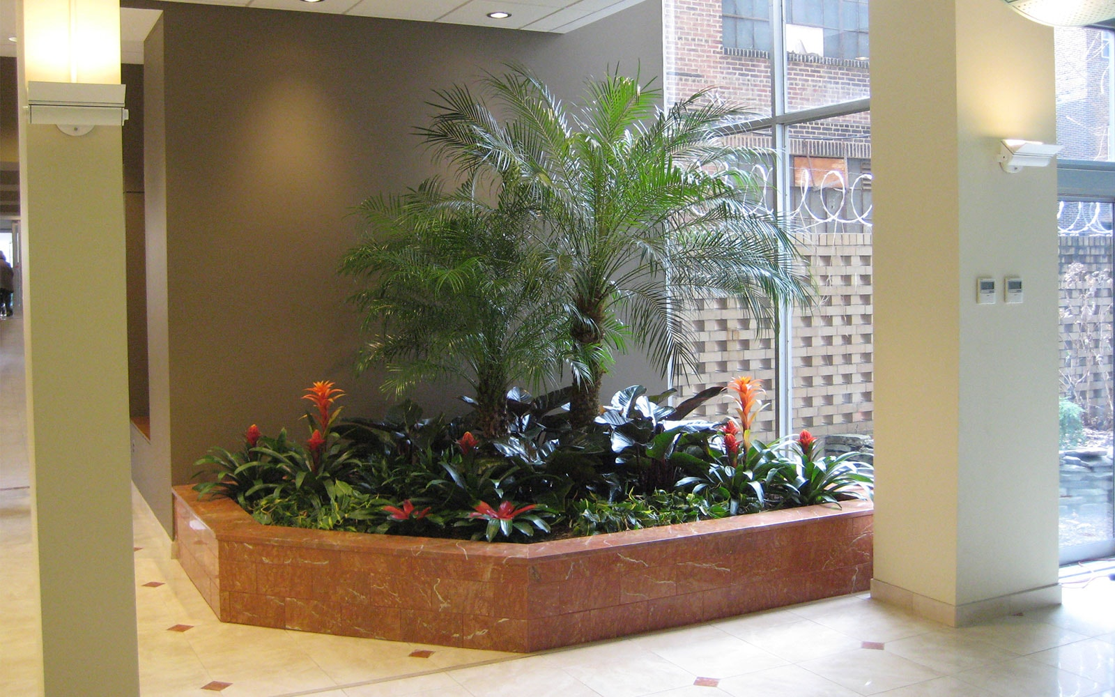 Stenton Institutional Painting - Clemens William Penn Lobby Entry Greenery