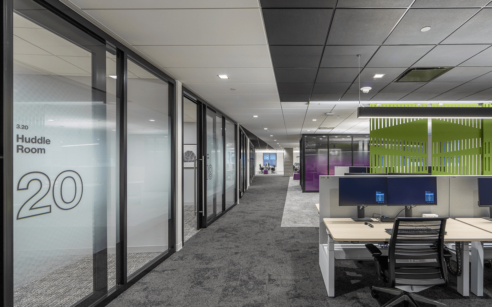 Stenton Corp Painting - Willis Towers Offices