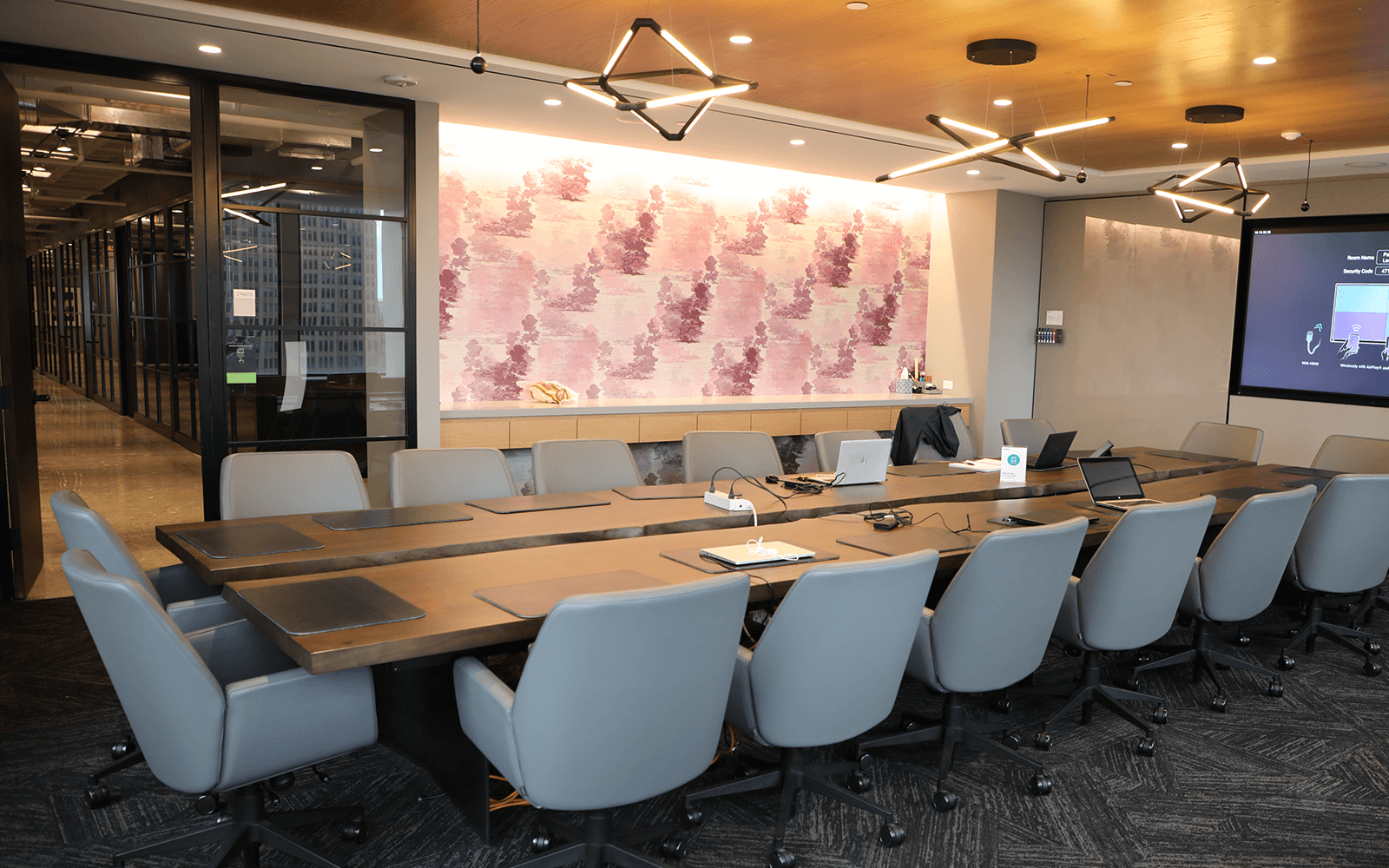 Stenton Corp Painting - Deloitte Headquarters Conference Room