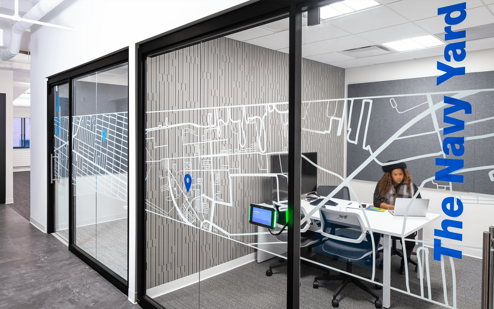 Stenton Corp Painting - Nelson Architects Office