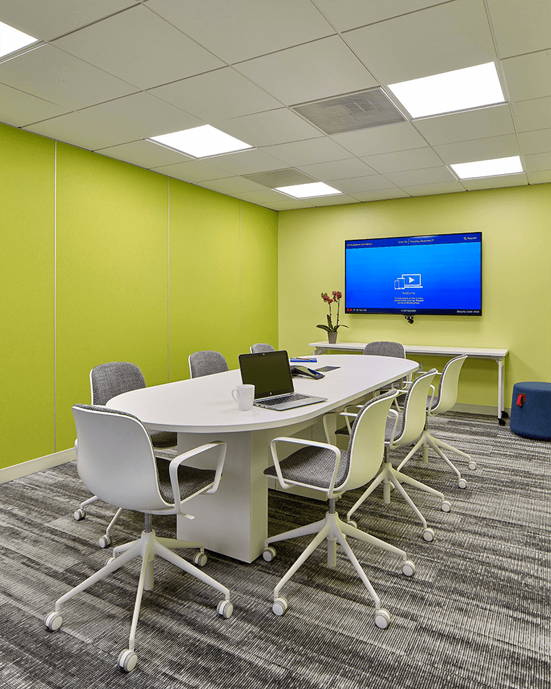 Stenton Corp Painting - Sparks Lab small conference room