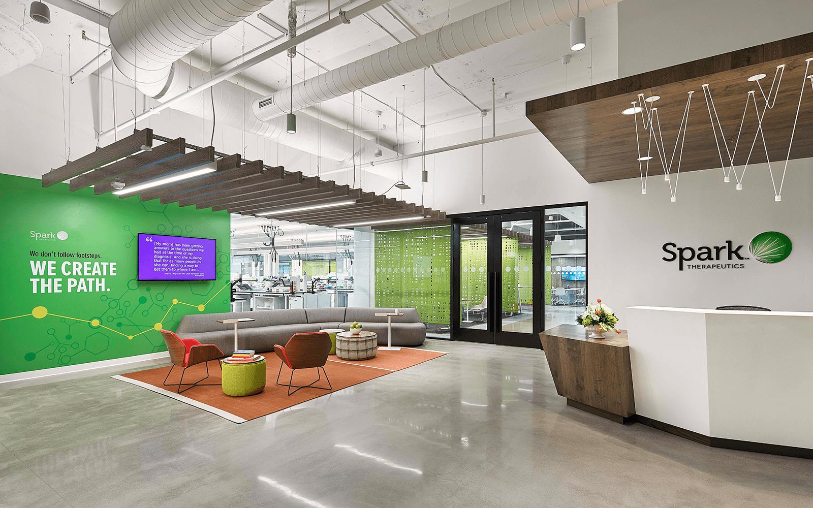 Stenton Corp Painting - Spark Lab lobby