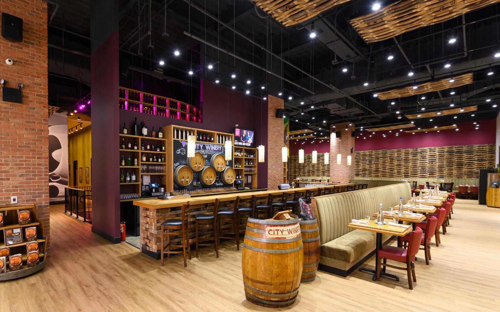Stenton Corp Painting - City Winery Philadelphia